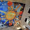 Split - Intérieur kitsch du café Luxor