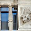 Šibenik - Lion sculpté de l'ancienne loggia