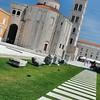 Zadar - Forum - Eglise Saint-Donat et campanile de la cathédrale Sainte-Anastasie
