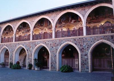 At Kykkos Monastery