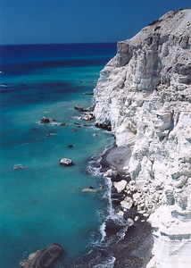 Coastline along the Lemessos - Paphos road