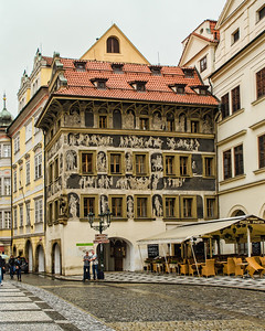 House for Minute, Prague
