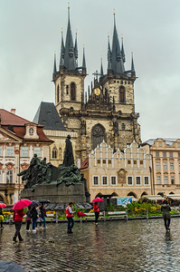 Church of Our Lady and Jan Hus Monument