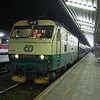 151016 at Kosice with a night train to Praha.