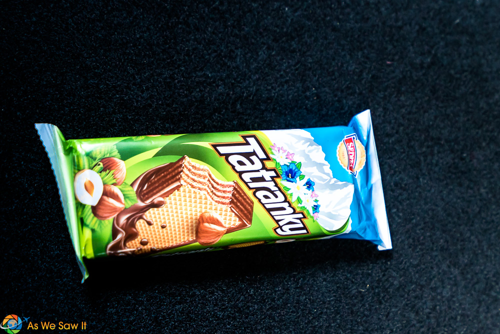 Tatranky, a Czech snack