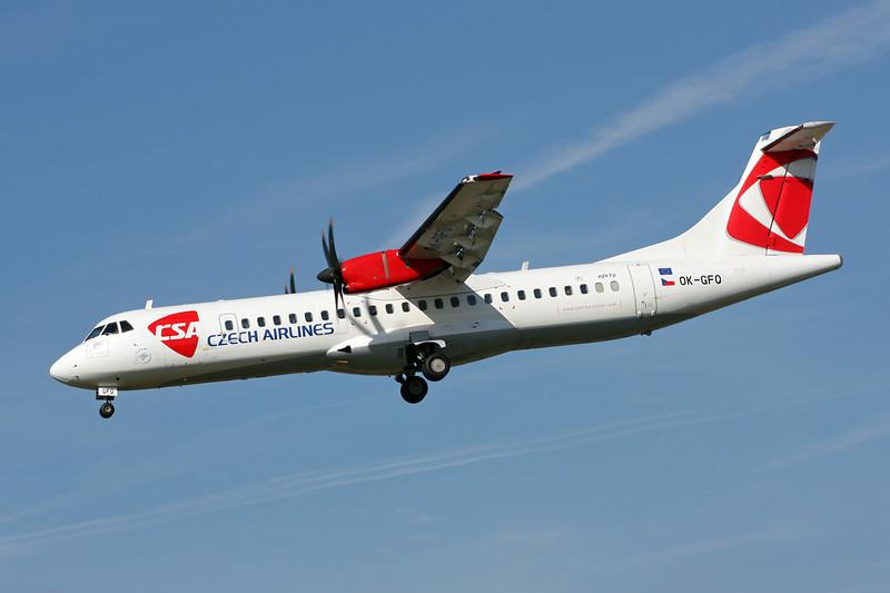 OK-GFQ Aerospatiale ATR-75-212A c/n 674 Paris-Le Bourget/LFPB/LBG 01-10-14