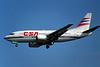 OK-XGB Boeing 737-55S c/n 26540 Dussledorf/EDDL/DUS 18-07-96 (35mm slide)