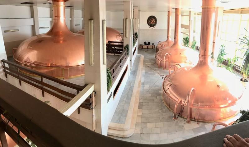 Brew house - Budweiser Budvar Brewery