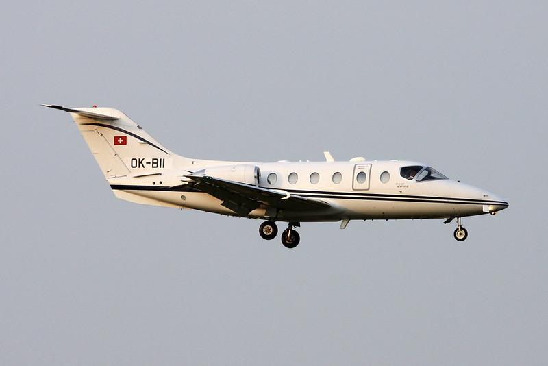 OK-BII Beech 400A Beechjet c/n RK-318 Zurich/LSZH/ZRH 08-09-17