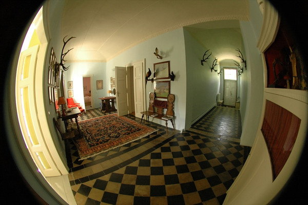 Country House, Fisheye - Bohemia, Czech Republic
