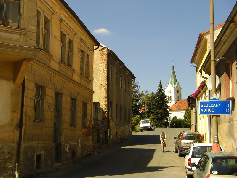 Quiet Town in Bohemia, Czech Republic