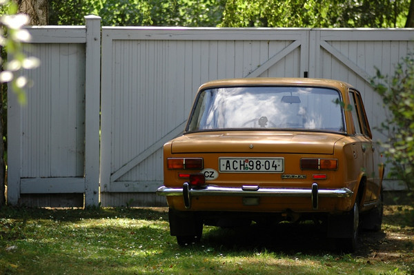 A Country Lada - Bohemia, Czech Republic