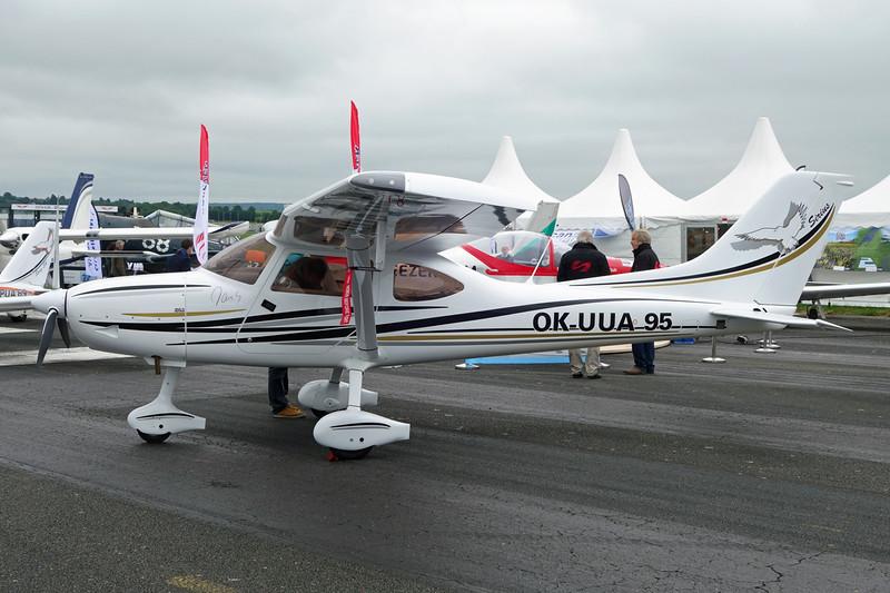 OK-UUA 95 TL Ultralight TL-3000 Sirius c/n 15SI113 Pontoise/LFPT/POX 03-06-16