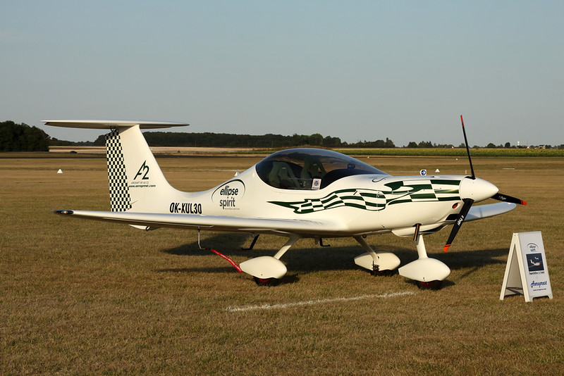 OK-XUL 30 Ellipse Aircraft Spirit c/n unknown Blois/LFOQ/XBQ 01-09-18