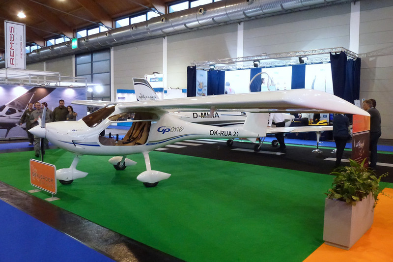 OK-RUA 21 Jihlavan Airplanes Skyleader GP One c/n unknown Friedrichshafen/EDNY/FDH 20-04-12