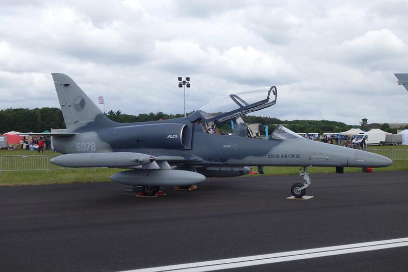 """6078 Aero Vodochody L-159B """"Czech Air Force"""" c/n 156072 Gilze-Rijen/EHGR 20-06-14"""