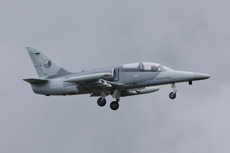 "6048 Aero Vodochody L-159A ""Czech Air Force"" c/n 156048 Leopoldsburg/EBLE 20-07-08"