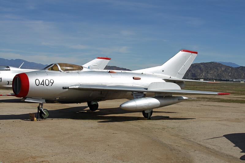 0409 Mikoyan-Gurevich MiG-19S c/n 150409 March (M)/KRIV/RIV 27-01-18