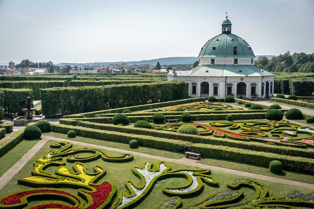 Gardens and Castle at Kroměříž