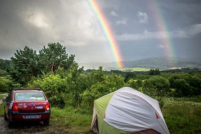 A Double Rainbow at Festival of Slow