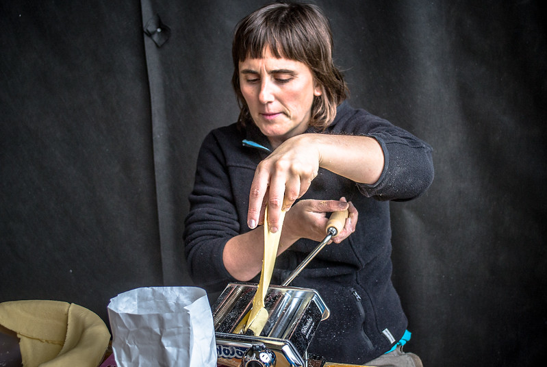 Renata is bringing a piece of home with her. She's going to make FRESH PASTA through the entire Mongol Rally with her pasta maker!!