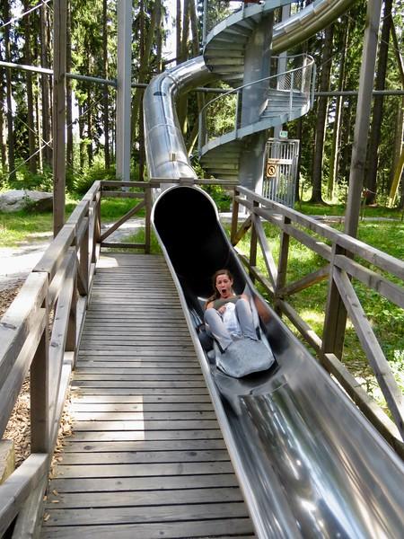 Treetop Walkway slide