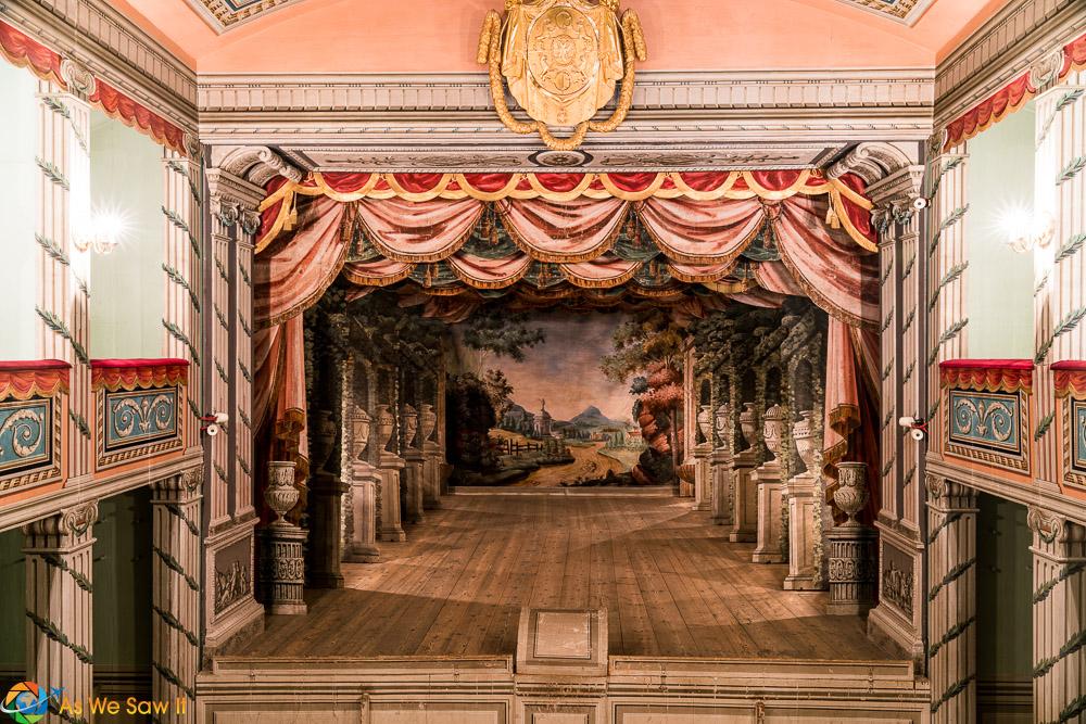 Baroque Theatre, Litomysl Castle UNESCO site