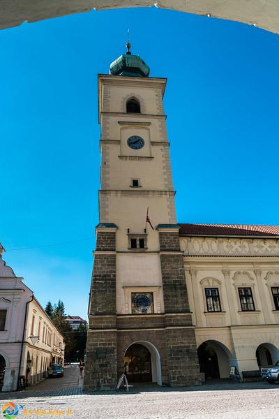 town Hall Tower, Smetana Square, Litomysl