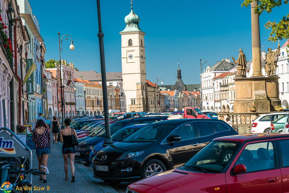 Litomysl Tower in Smetana Square