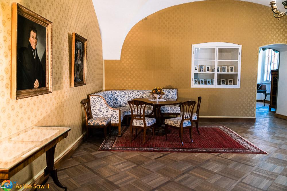 Smetana birth home