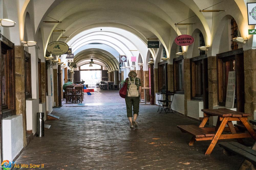 Bar area in Olomouc