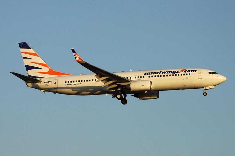 "OK-TVY Boeing 737-8Q8 ""Smartwings"" c/n 30724 Palma/LEPA/PMI 14-06-16"