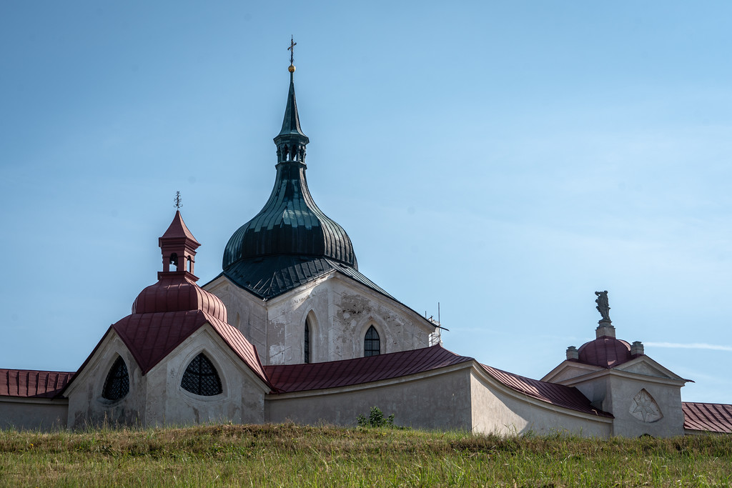 Pilgrimage Church of St John of Nepomuk at Zelená Hora