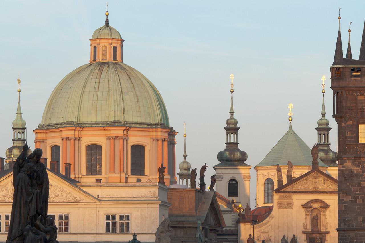 Dome of the Saint Francis of Assissi Church - Prague, Czech Republic