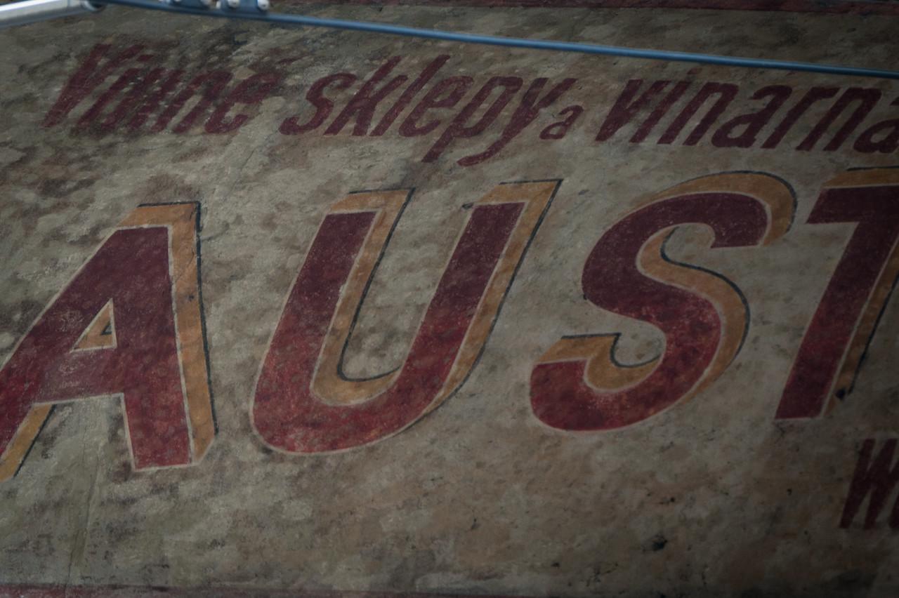 Graffiti spotted in Prague, Czech Republic