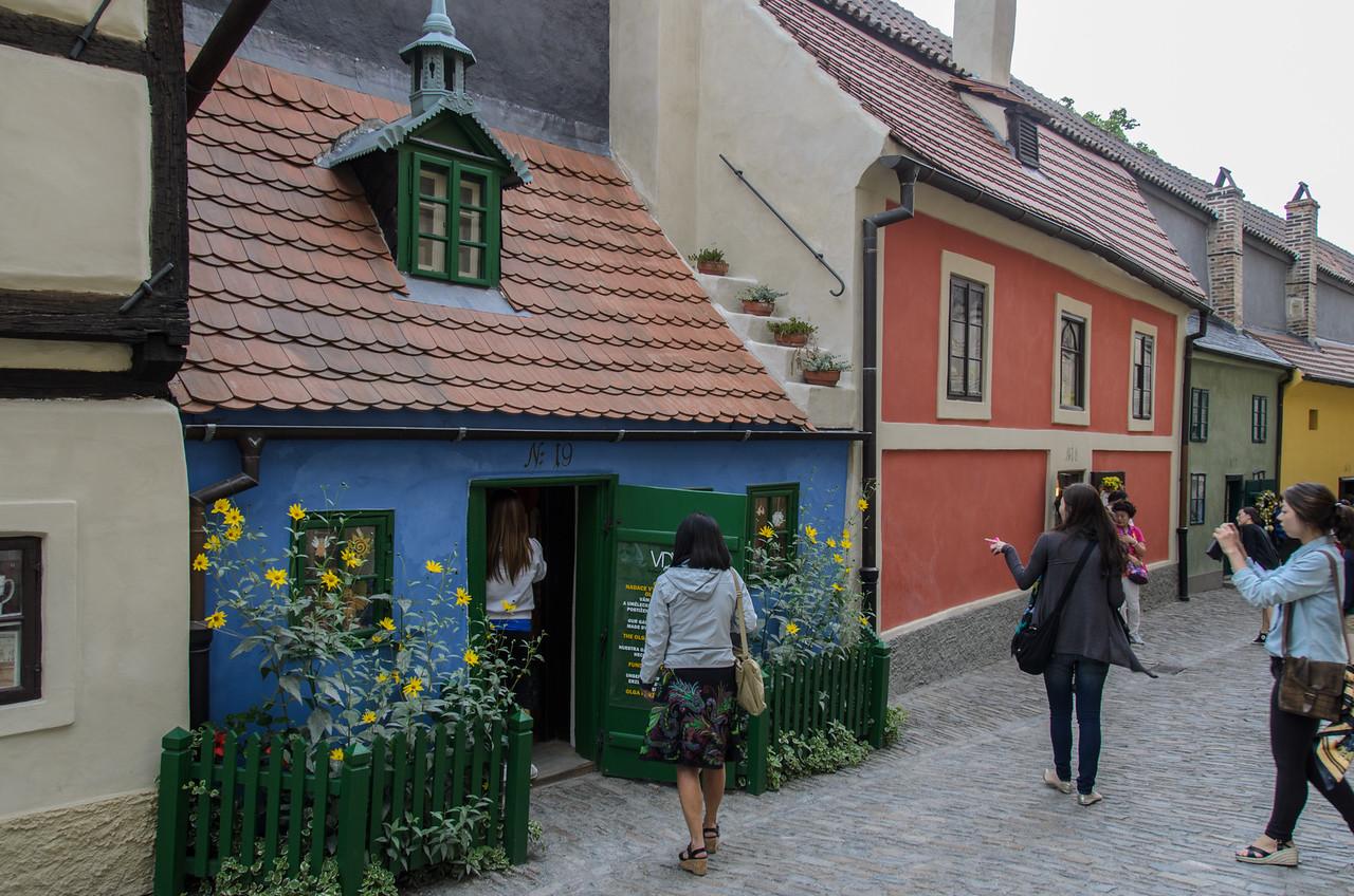 Golden Lane, Prague Castle.