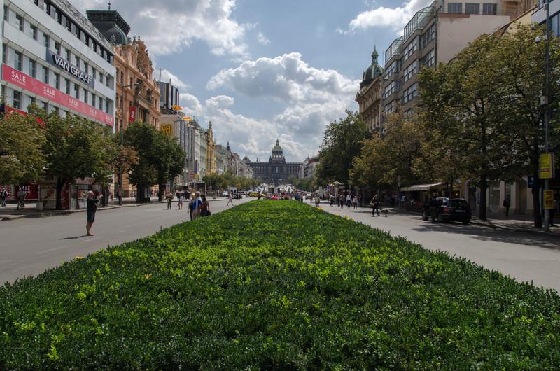 Wenseslas Square.