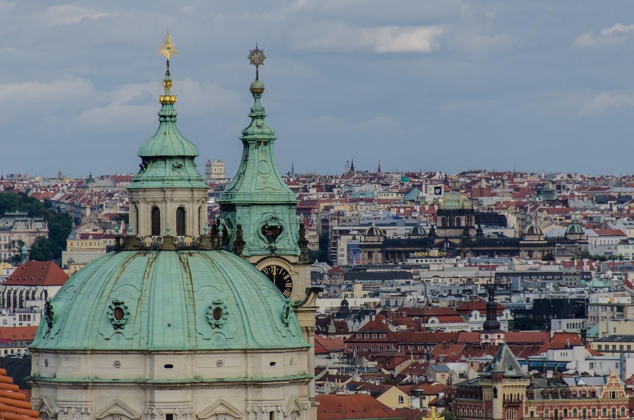 Prague from castle.