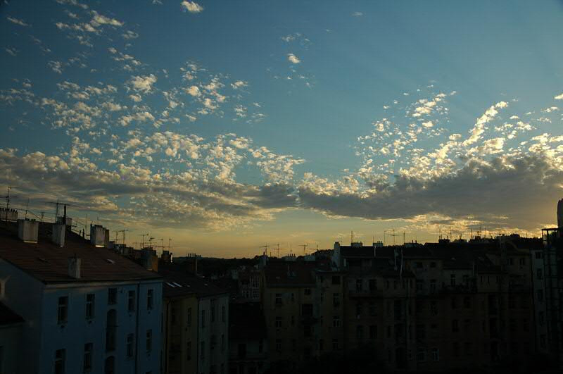 Sunset and Rooftops - Prague, Czech Republic