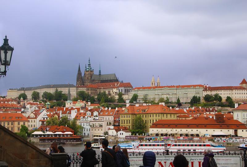 Prague, Czech Republic, View on Prague Castle