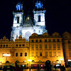 Prague, Czech Republic, Evening View, Old Town Square