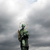 Prague,  Czech Republic, Charles Bridge Statue