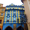 Prague,  Czech Republic, Colorful Buidings, Old Town Square