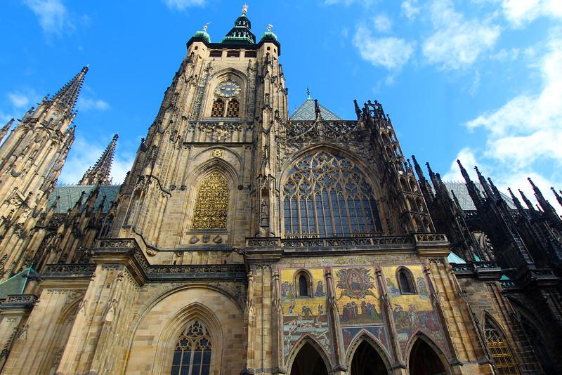 Prague, Czech Republic, St. Vitus Cathedral