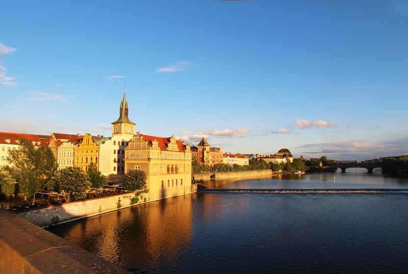 Prague, Czech Republic, River View