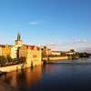 Prague, Czech Republic, River View