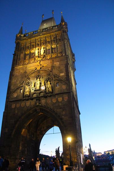Prague, Czech Republic, Old Town Bridge Tower