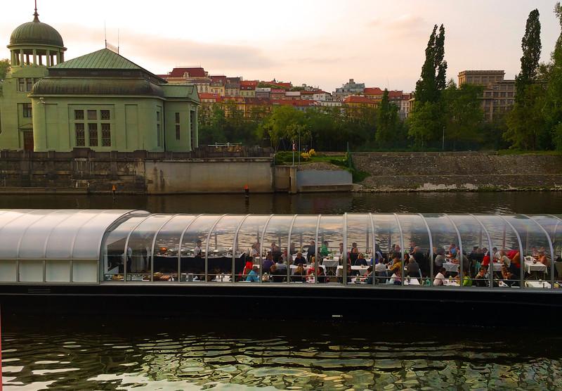 Prague, Czech Republic, River Boat Dinner Cruise on the Vltava River