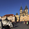 Prague, Czech Republic, Old Town Square with Horse Carriage