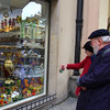 Prague, Czech Republic, Shopping for Bohemian Glass